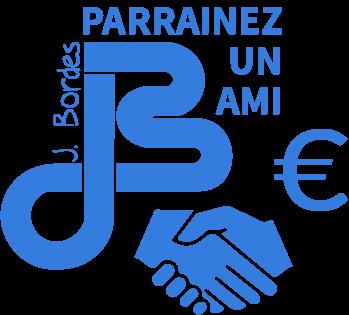 logo parrainage Jean Bordes animé
